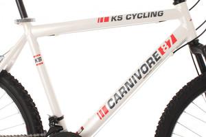 "Mountainbike Hardtail 26"" Carnivore weiss – Bild 4"