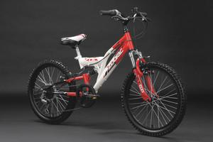 "Mountainbike Fully 20"" Zodiac rot-weiss – Bild 11"