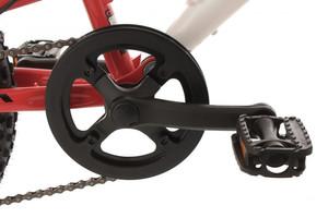 "Mountainbike Fully 20"" Zodiac rot-weiss – Bild 2"