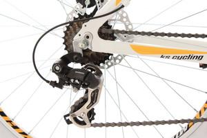 """Mountainbike Hardtail 26"""" Compound weiss – Bild 3"""