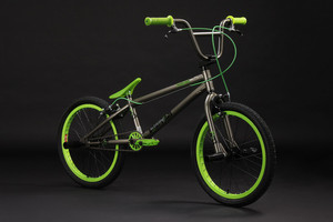 "BMX Bike 20"" Twentyinch anthrazit-grün – Bild 11"