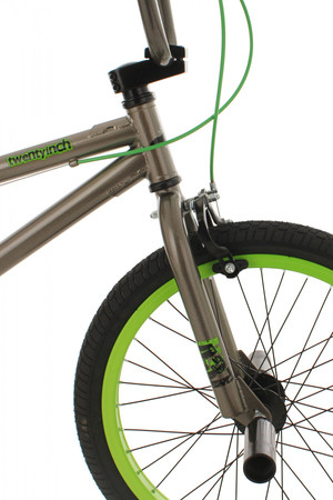 "BMX Bike 20"" Twentyinch anthrazit-grün – Bild 13"