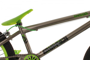 "BMX Bike 20"" Twentyinch anthrazit-grün – Bild 10"