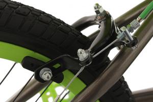 "BMX Bike 20"" Twentyinch anthrazit-grün – Bild 9"