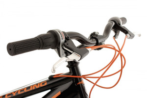 "Mountainbike Fully 26"" Bliss schwarz-orange – Bild 4"
