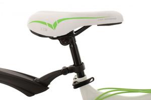 """Mountainbike Fully 26"""" Bliss weiss-grün – Bild 4"""