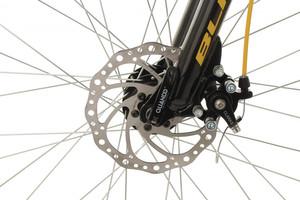 "Mountainbike Fully 24"" Bliss schwarz-gelb – Bild 7"