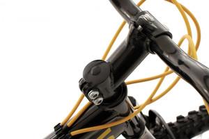"Mountainbike Fully 24"" Bliss schwarz-gelb – Bild 4"