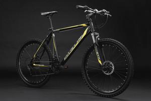 """Mountainbike Hardtail 26"""" Sharp schwarz-gelb – Bild 11"""