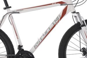 "Mountainbike Hardtail 26"" Sharp weiss-rot – Bild 9"