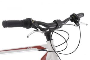 "Mountainbike Hardtail 26"" Sharp weiss-rot – Bild 5"
