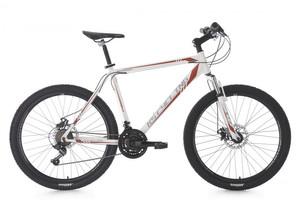 "Mountainbike Hardtail 26"" Sharp weiss-rot – Bild 1"