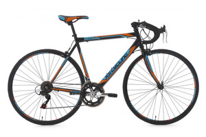"Rennvelo 28"" Piccadilly schwarz-orange-blau – Bild 1"