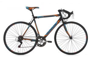 """Rennvelo 28"""" Piccadilly schwarz-orange-blau – Bild 1"""