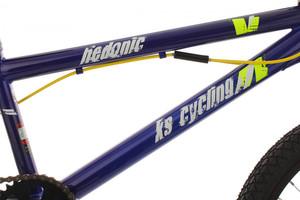 "BMX Bike 20"" Hedonic blau-gelb – Bild 9"