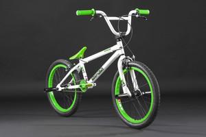 "BMX Bike 20"" Twentyinch weiss-grün – Bild 7"