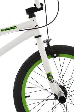 "BMX Bike 20"" Twentyinch weiss-grün – Bild 9"