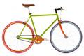"""Fixie Fitnessbike 28"""" Essence grün 001"""
