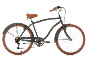"Beachcruiser 26"" Cruizer anthrazit – Bild 1"