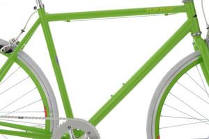 "Fixie Fitnessbike 28"" Flip Flop grün-weiss – Bild 9"