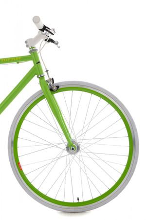 "Fixie Fitnessbike 28"" Flip Flop grün-weiss – Bild 13"
