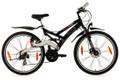 "Mountainbike Fully 26"" For Masters schwarz 001"
