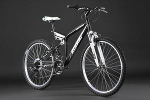 """Mountainbike Fully 26"""" Zodiac schwarz – Bild 10"""