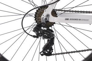 "Mountainbike Hardtail 29"" Carnivore weiss-grau – Bild 3"
