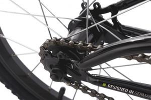 """Kinder-Mountainbike 16"""" Zodiac weiss-grün – Bild 3"""
