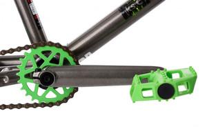 "BMX Bike 20"" Twentyinch anthrazit-grün  – Bild 2"