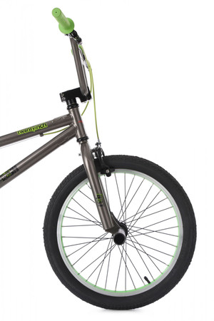 "BMX Bike 20"" Twentyinch anthrazit-grün  – Bild 9"