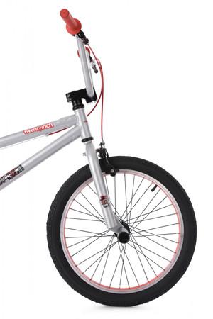 """BMX Bike 20"""" Twentyinch silber-rot – Bild 9"""