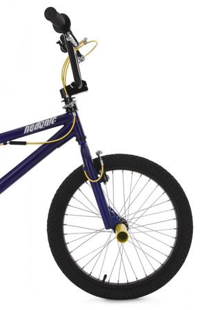 "BMX Bike 20"" Hedonic blau-gelb – Bild 10"