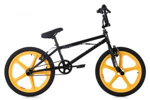 """BMX Bike 20"""" Xtraxx schwarz-gelb – Bild 1"""