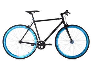 "Fixie Fitnessbike 28"" Pegado schwarz-blau – Bild 1"
