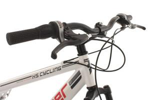 "Mountainbike Fully 29"" Slyder weiss – Bild 4"