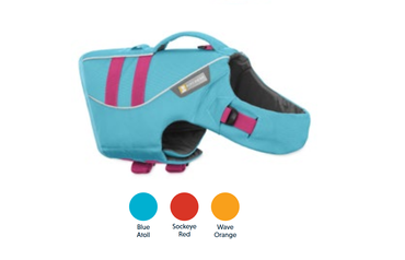 Ruffwear Float CoatTM Blue Atoll L