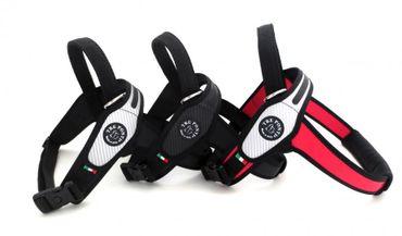 Tre Ponti Geschirr Primo Classic mit schwarzen Rand rot bis ca. 40 - 60 kg XXL