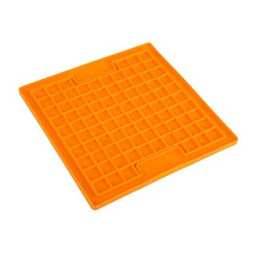 LickiMat Playdate Original - small 20 x 20 cm orange oder grün – Bild 2