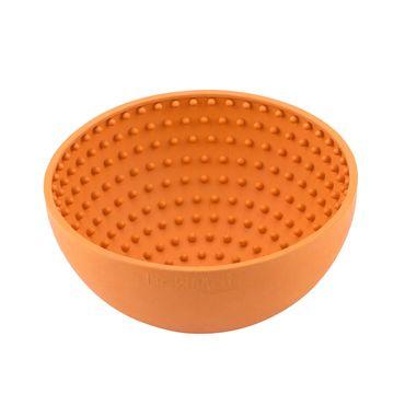 LickiMat Wobble - ø 15 cm orange oder grün – Bild 1