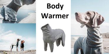 Hurtta Body Warmer Silber-grau in div. Größen – Bild 1