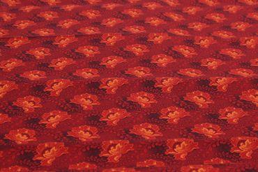 """Shweshwe Baumwollstoff """"Rose"""" – Bild 2"""