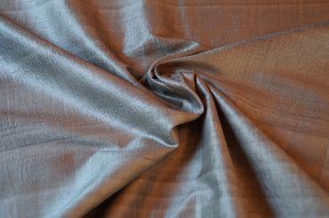 """Indische Dupion-Seide  """"elfengrün"""" 100% Seide handgewebt in ca. 110cm Breite"""