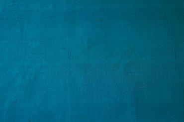 """Indische Dupion-Seide  """"turquoise"""" 100% Seide handgewebt in ca. 110cm Breite – Bild 3"""