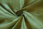 """Indische Dupion-Seide """"light moos"""" 100% Seide handgewebt in ca. 110cm Breite 001"""