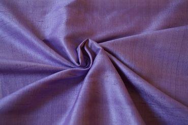 """Indische Dupion-Seide  """"lilac"""", 100% Seide handgewebt in ca. 110cm Breite – Bild 1"""