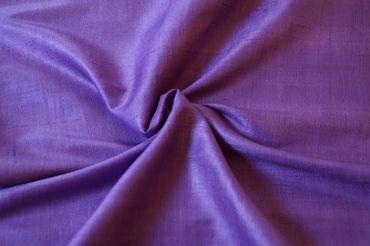 """Indische Dupion-Seide """"violet"""", 100% Seide handgewebt in ca. 110cm Breite – Bild 1"""