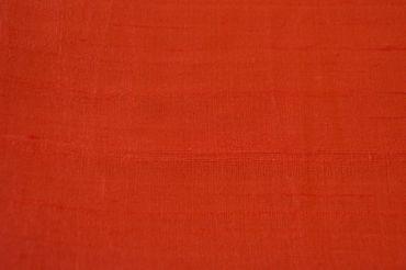 """Indische Dupion-Seide """"tomato"""", 100% Seide handgewebt in ca. 110cm Breite – Bild 2"""