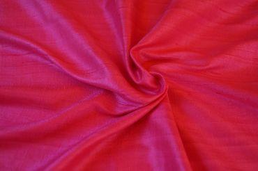 """Indische Dupion-Seide """"pink"""", 100% Seide handgewebt in ca. 110cm Breite"""