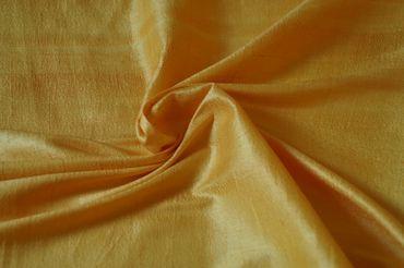 """Indische Dupion-Seide """"light yellow"""", 100% Seide handgewebt in ca. 110cm Breite"""